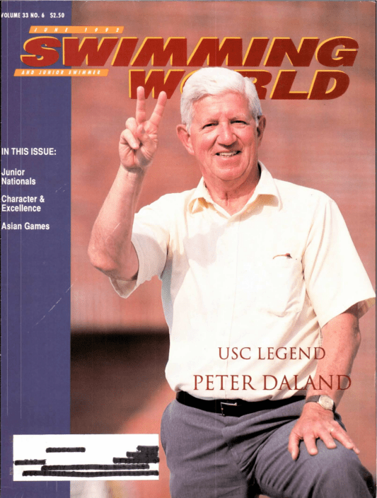 Swimming World Magazine June 1992 Issue- PDF ONLY - Cover
