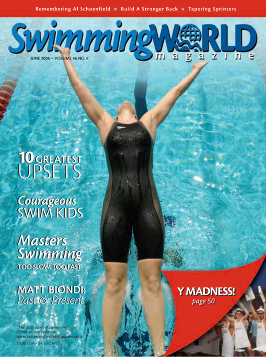 Swimming World Magazine June 2005 Issue- PDF ONLY - Cover