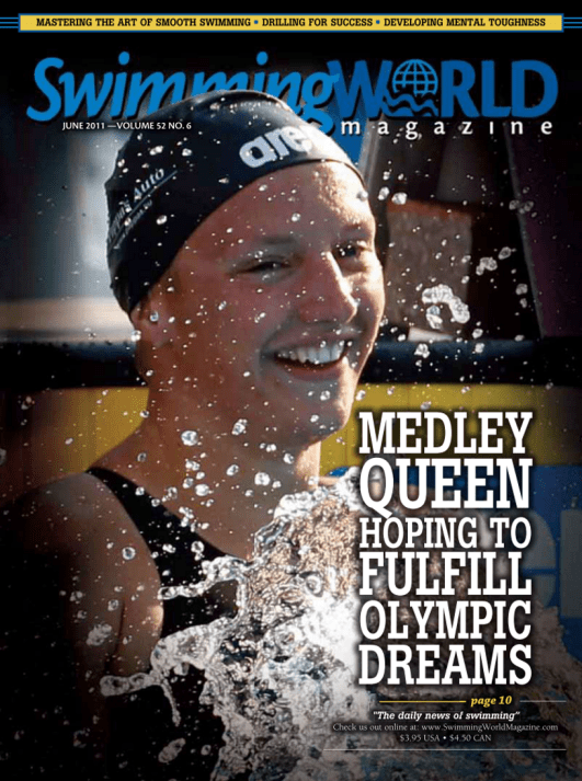 Swimming World Magazine June 2011 Issue- PDF ONLY - Cover