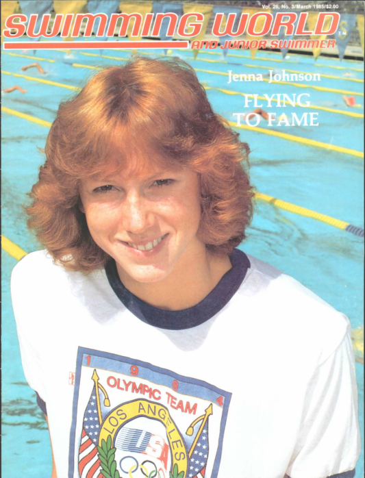Swimming World Magazine March 1985 Issue- PDF ONLY - Cover