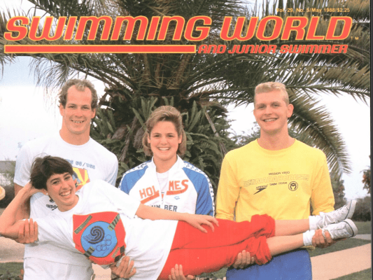 Swimming World Magazine May 1988 Issue- PDF ONLY - Cover