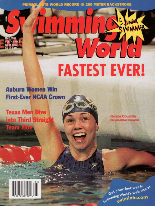 Swimming World Magazine May 2002 Issue- PDF ONLY - Cover