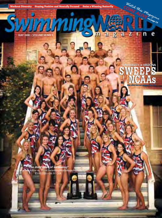 Swimming World Magazine May 2008 Issue- PDF ONLY - Cover