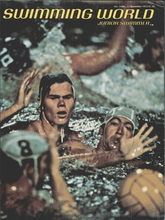 Swimming World Magazine November 1973 Issue- PDF ONLY - Cover