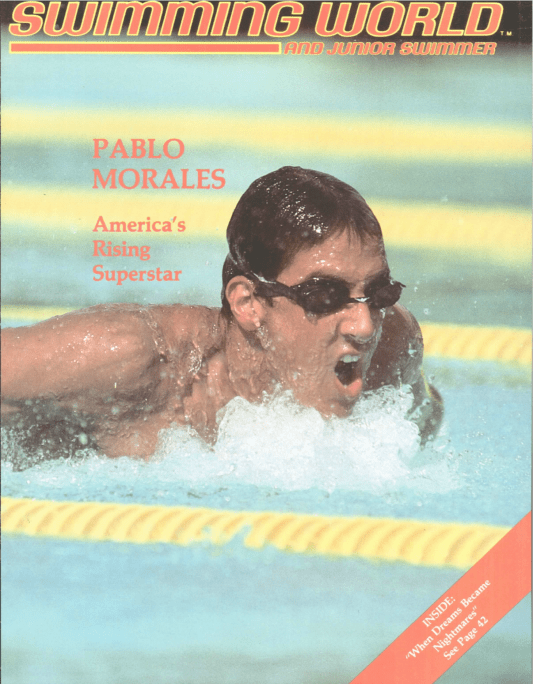Swimming World Magazine November 1984 Issue- PDF ONLY - Cover
