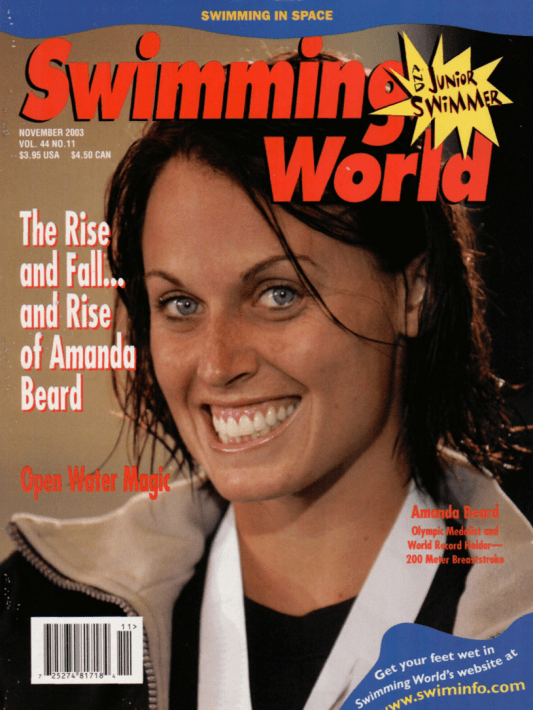 Swimming World Magazine November 2003 Issue- PDF ONLY - Cover