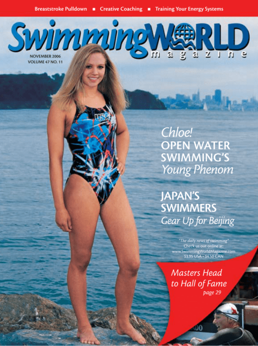 Swimming World Magazine November 2006 Issue- PDF ONLY - Cover