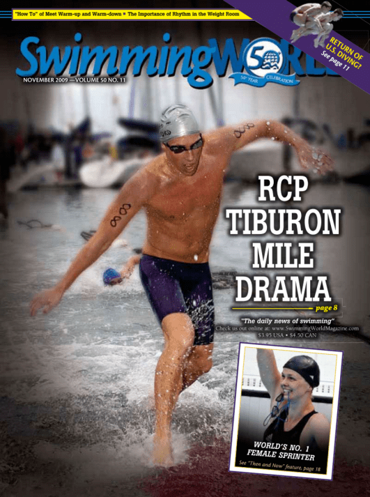Swimming World Magazine November 2009 Issue- PDF ONLY - Cover