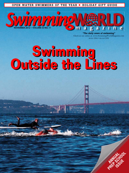 Swimming World Magazine November 2012 Issue- PDF ONLY - Cover