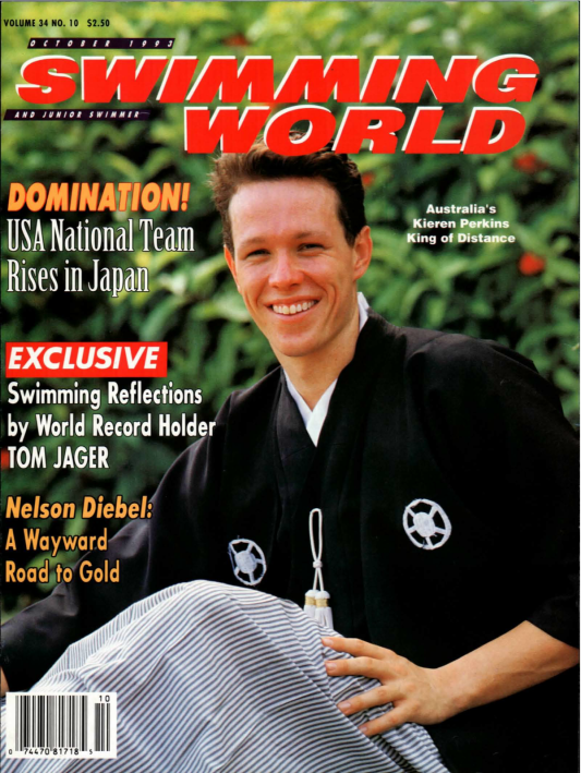 Swimming World Magazine October 1993 Issue- PDF ONLY - Cover