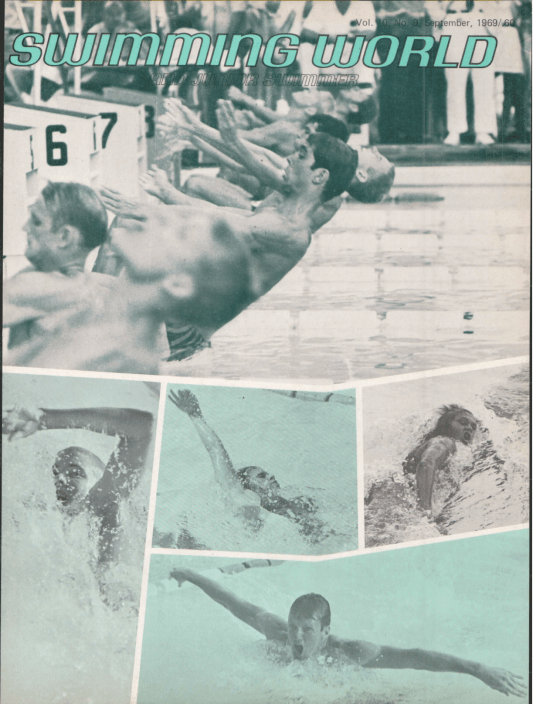 Swimming World Magazine September 1969 Issue- PDF ONLY - Cover