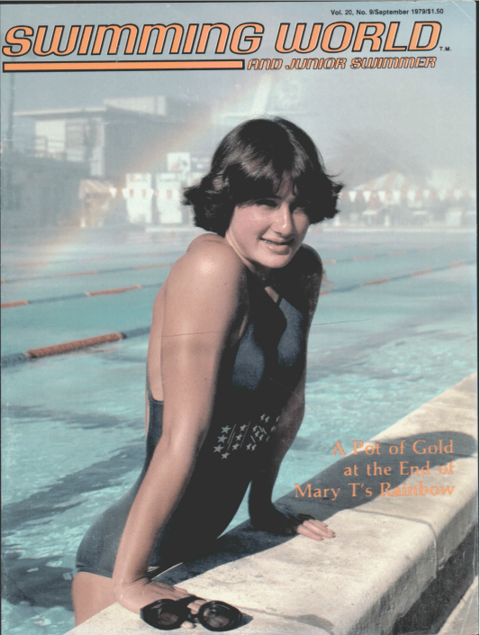 Swimming World Magazine September 1979 Issue- PDF ONLY - Cover