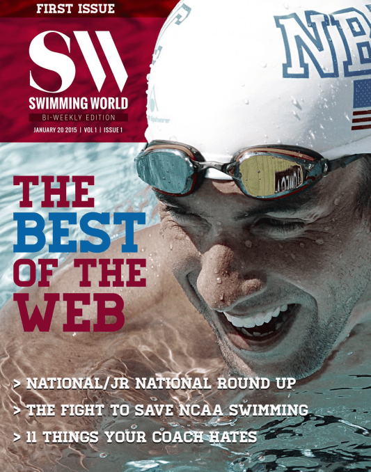 Swimming World Biweekly: The Best of the Web - Cover