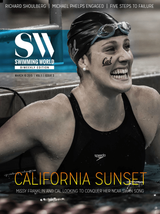 Swimming World Biweekly: Missy Franklin, Michael Phelps Roundup - Cover