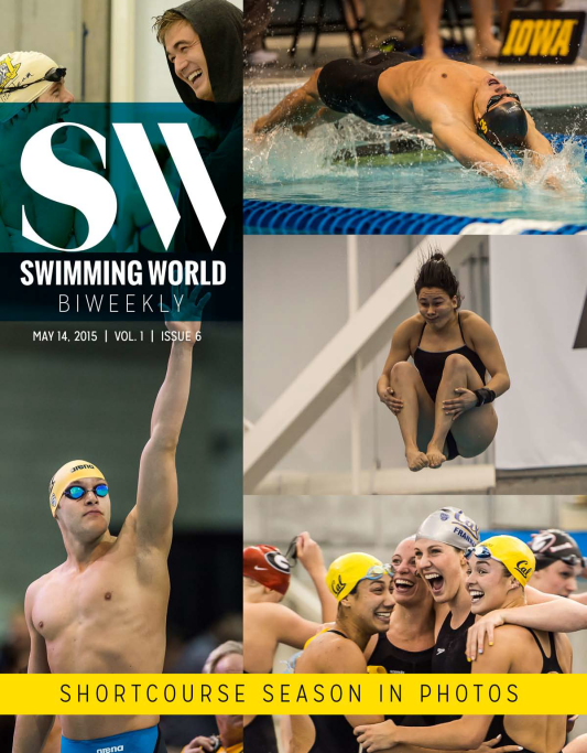 Swimming World Biweekly: A Photographic Look Back At Short Course Championships - Cover