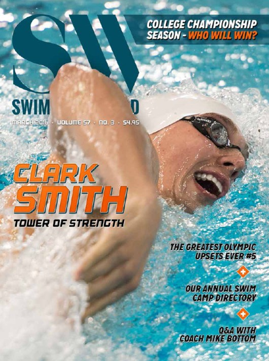 Swimming World Magazine March 2016 Issue - PDF ONLY - Cover