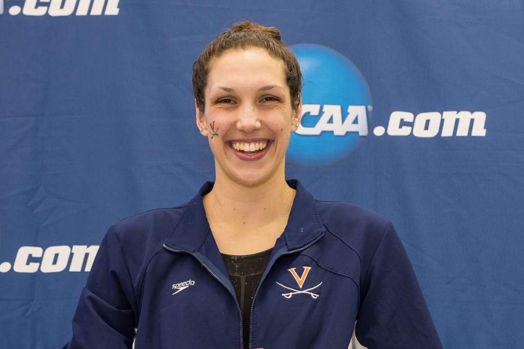 2016.03.18 2016 Womens NCAA Swimming Championships Virginia Courtney Bartholomew