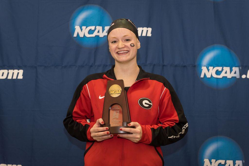 2016.03.19 2016 Womens NCAA Swimming Championships_Georgia Megan Kingsley