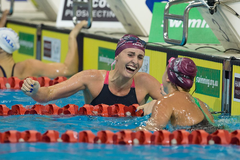 swims in the 2016 Australian Swimming Championships, Day 3 at the SA Aquatic & Leisure Centre in Adelaide on Saturday, April 9, 2016 in Sydney, Australia. (Photo by Steve Christo)