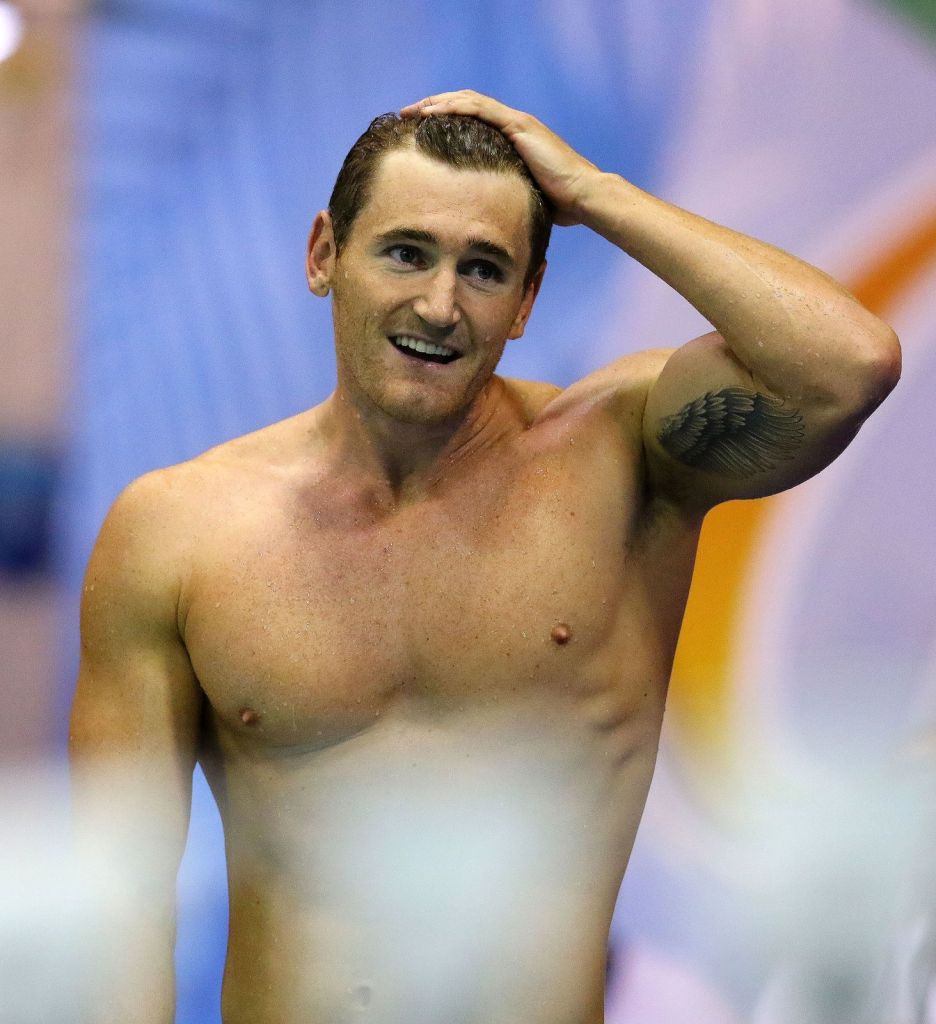 DURBAN, SOUTH AFRICA - APRIL 15: Cameron van den Burgh during the finals session on day 6 of the SA National Aquatic Championships and Olympic Trials on April 15 , 2016 at the Kings Park Aquatic Center pool in Durban, South Africa. Photo Credit / Anesh Debiky/Swim SA