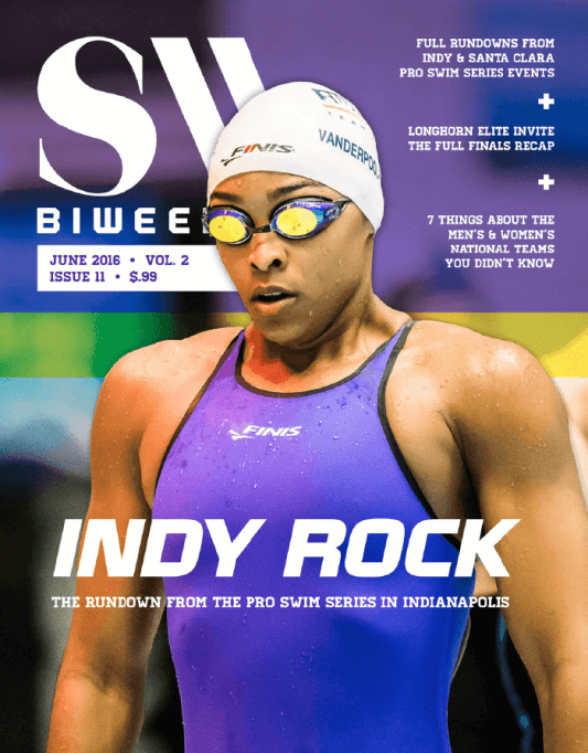 Swimming World Biweekly: Indy Rock - Cover