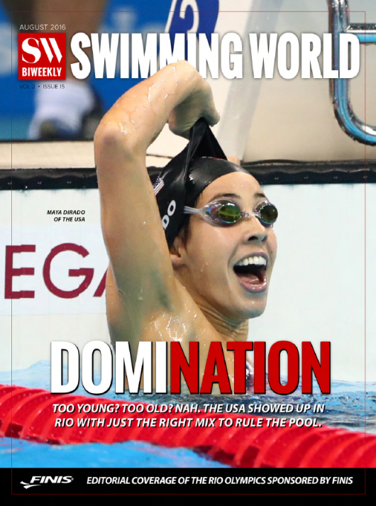 Swimming World Biweekly: Review Of A Rio Good Time! - Cover