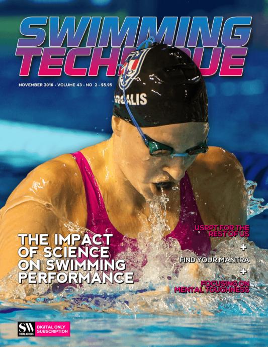 Swimming Technique November 2016 Issue - Cover