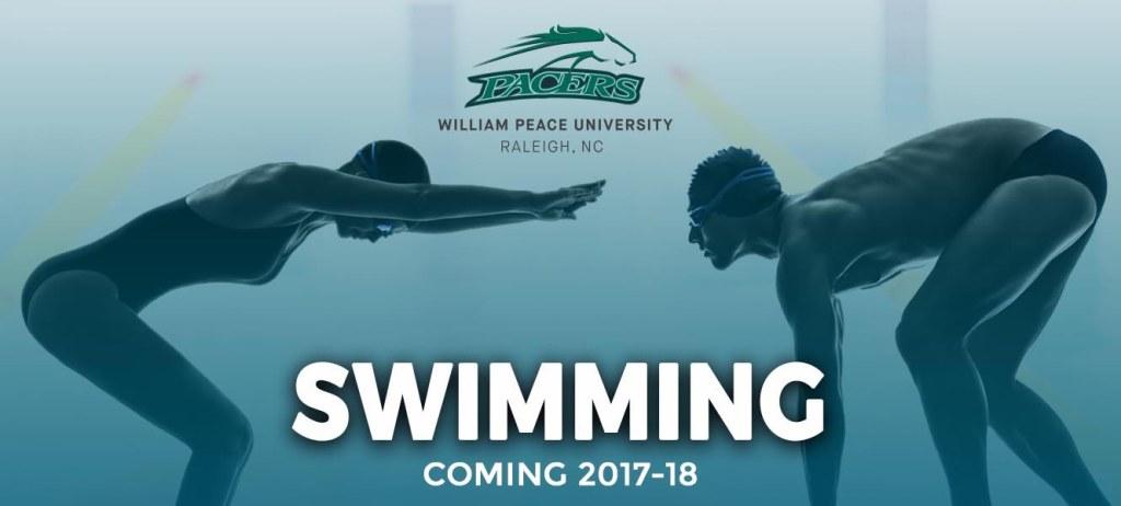 william-peace-university-swimming