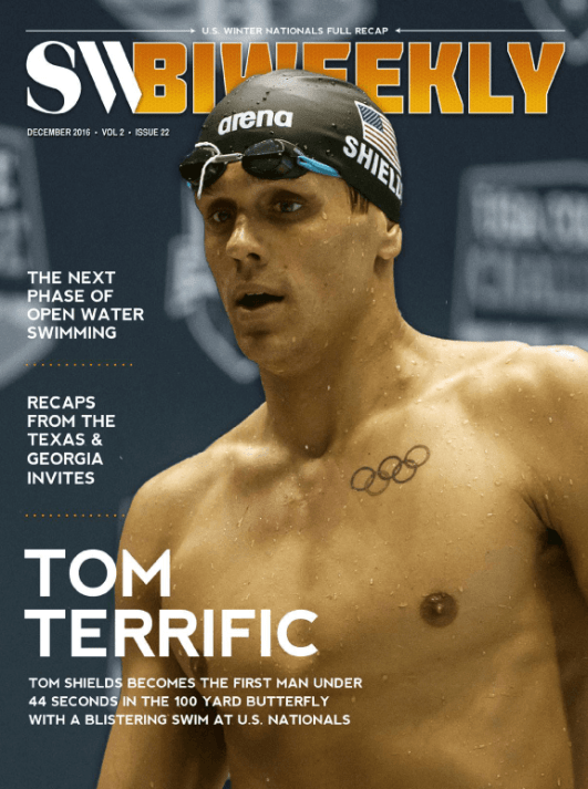 Swimming World Biweekly: USA Winter Nationals, NCAA Invites and Top News Stories - Cover