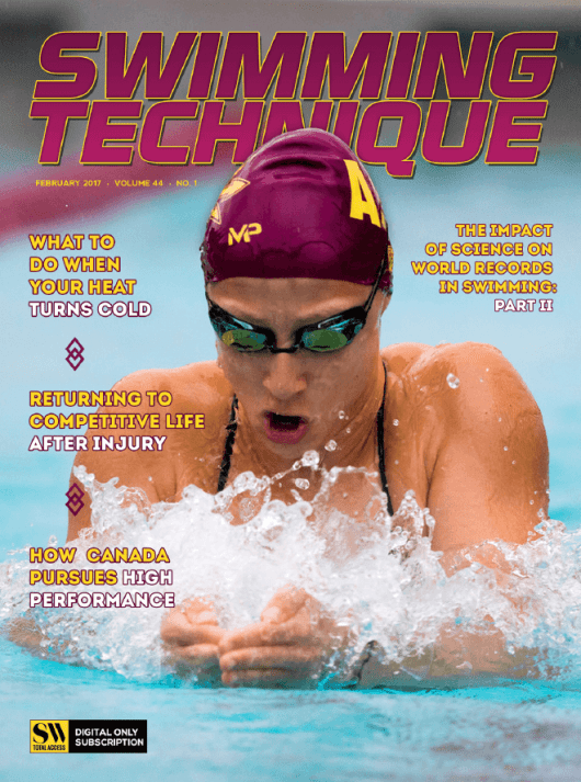 Swimming Technique February 2017 Issue - Cover
