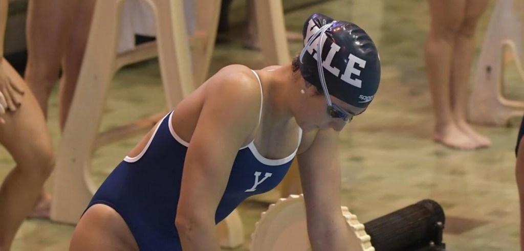 yale swimmer
