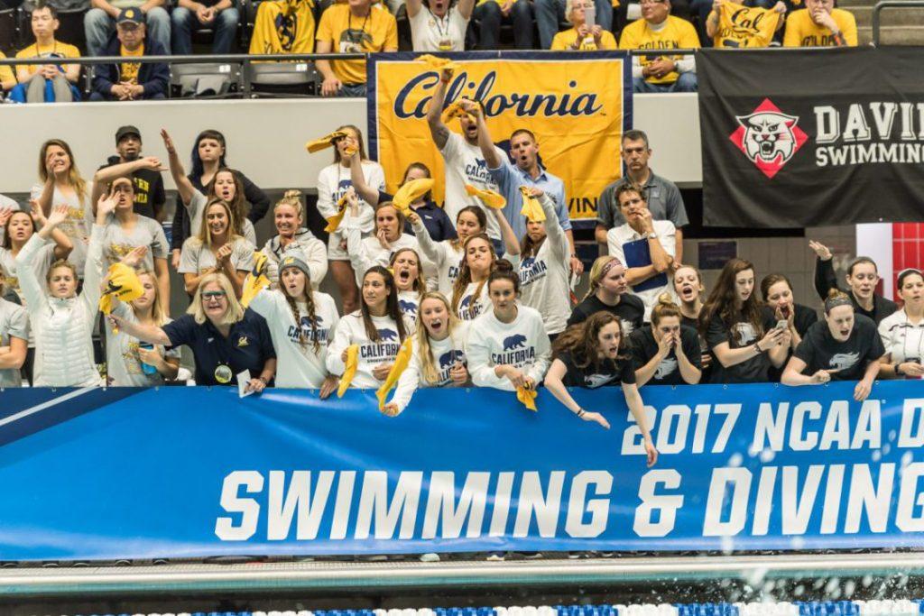 cal-cheering-swimming