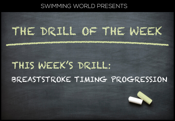 Breaststroke Timing Progression