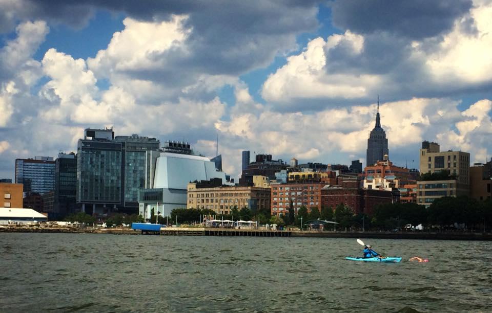 Swimming Around Manhattan