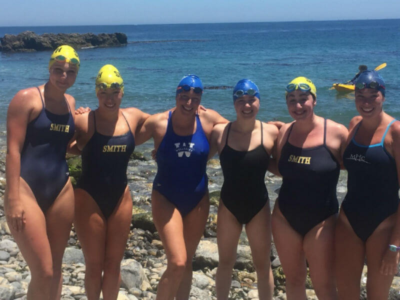 seven-sisters-college-women-catalina-double-crossing-relay