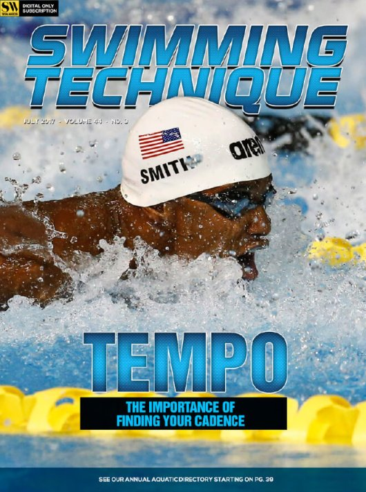 Swimming Technique July 2017 Issue - Cover