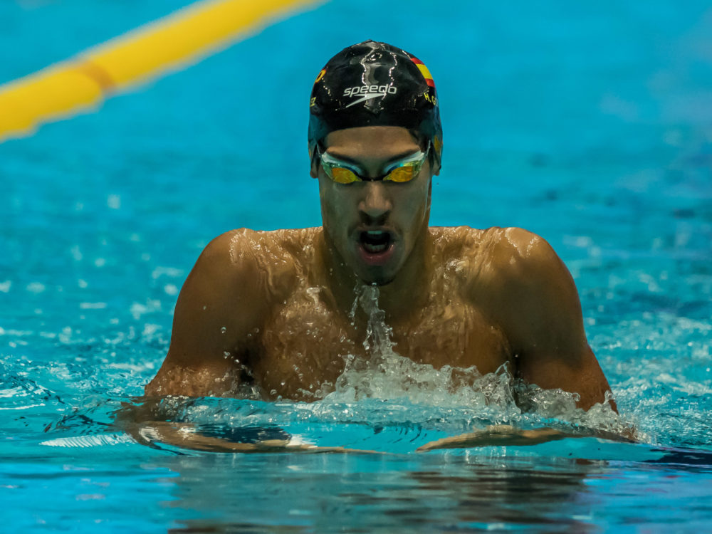 Hugo Gonzalez Repeats for Cal in 400 IM at Pac-12 Conference Champs