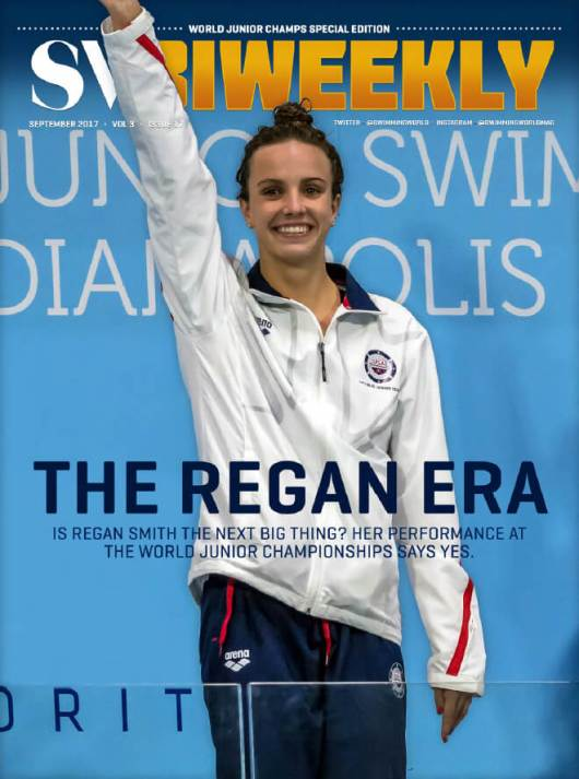 Swimming World Biweekly: The Regan Era - Cover