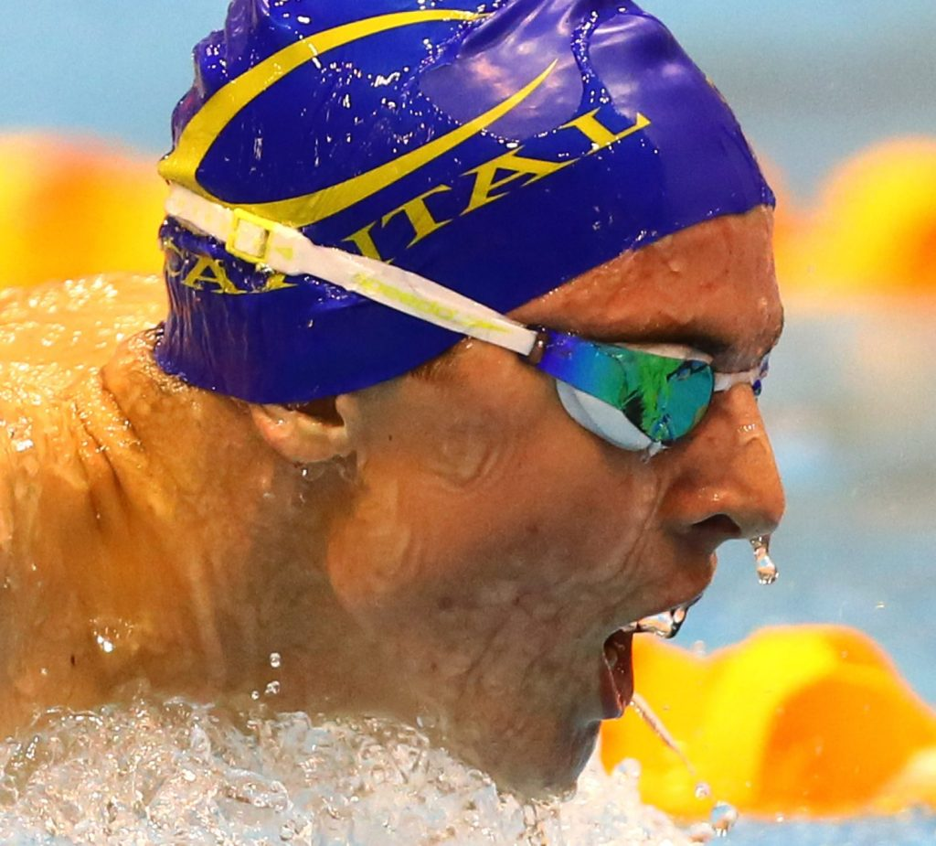 Lewis Clareburt. New Zealand Age Group Championships, Session Eight, Wellington Regional Aquatic Centre, Kilbirnie, Wellington, Friday 8th May 2015. Photo: Simon Watts/www.bwmedia.co.nz