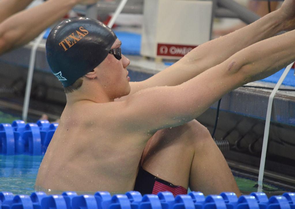 john shebat, university of texas, ncaa swimming