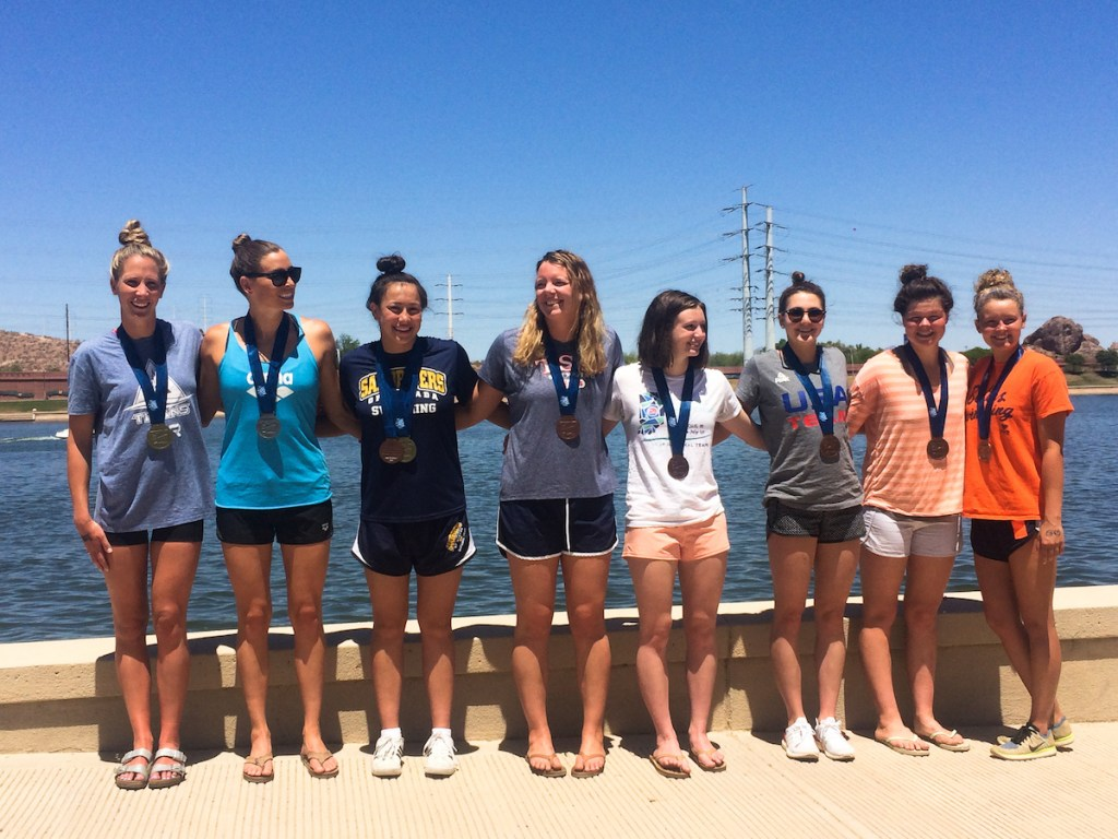 2018-open-water-nats-10k-women-podium