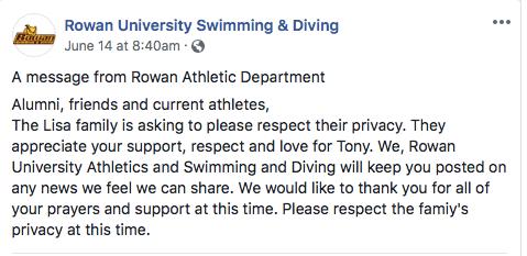 rowan-university-facebook-tony-lisa-passing