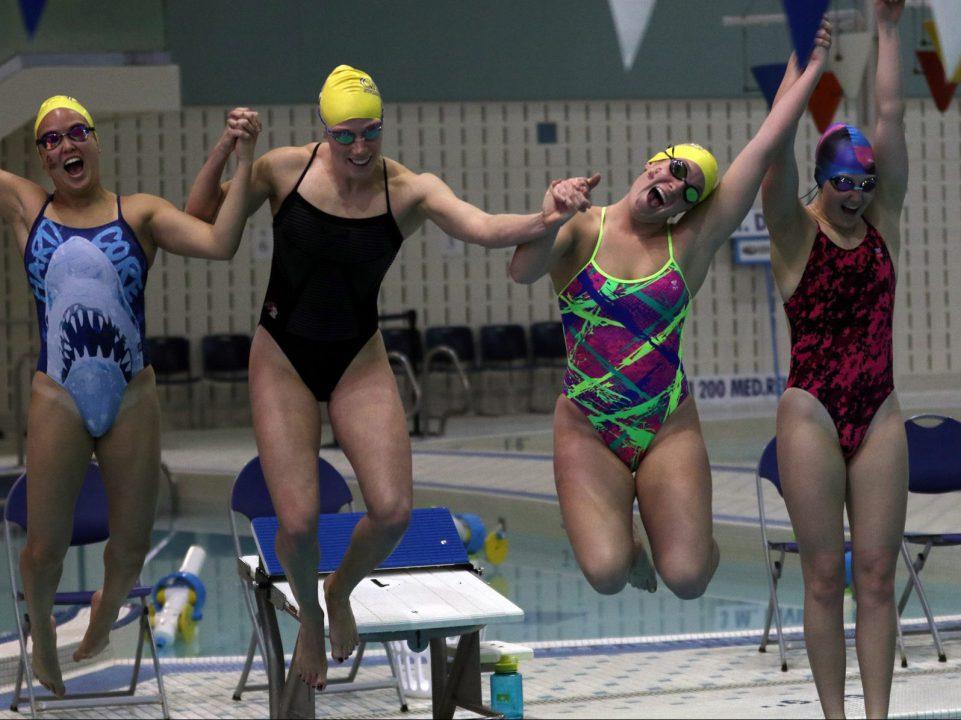 the girls jumping post-finals