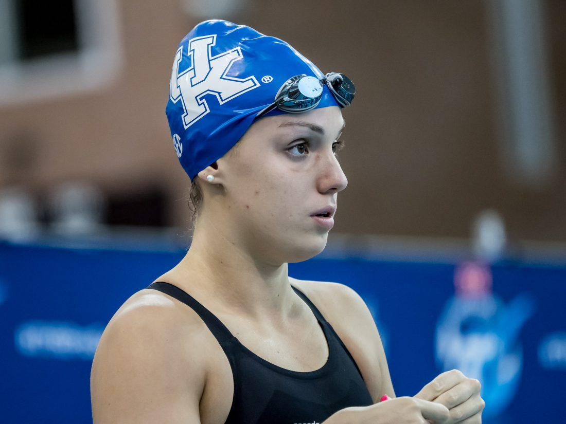 Kentucky Swimming Sweeps Ohio, South Carolina