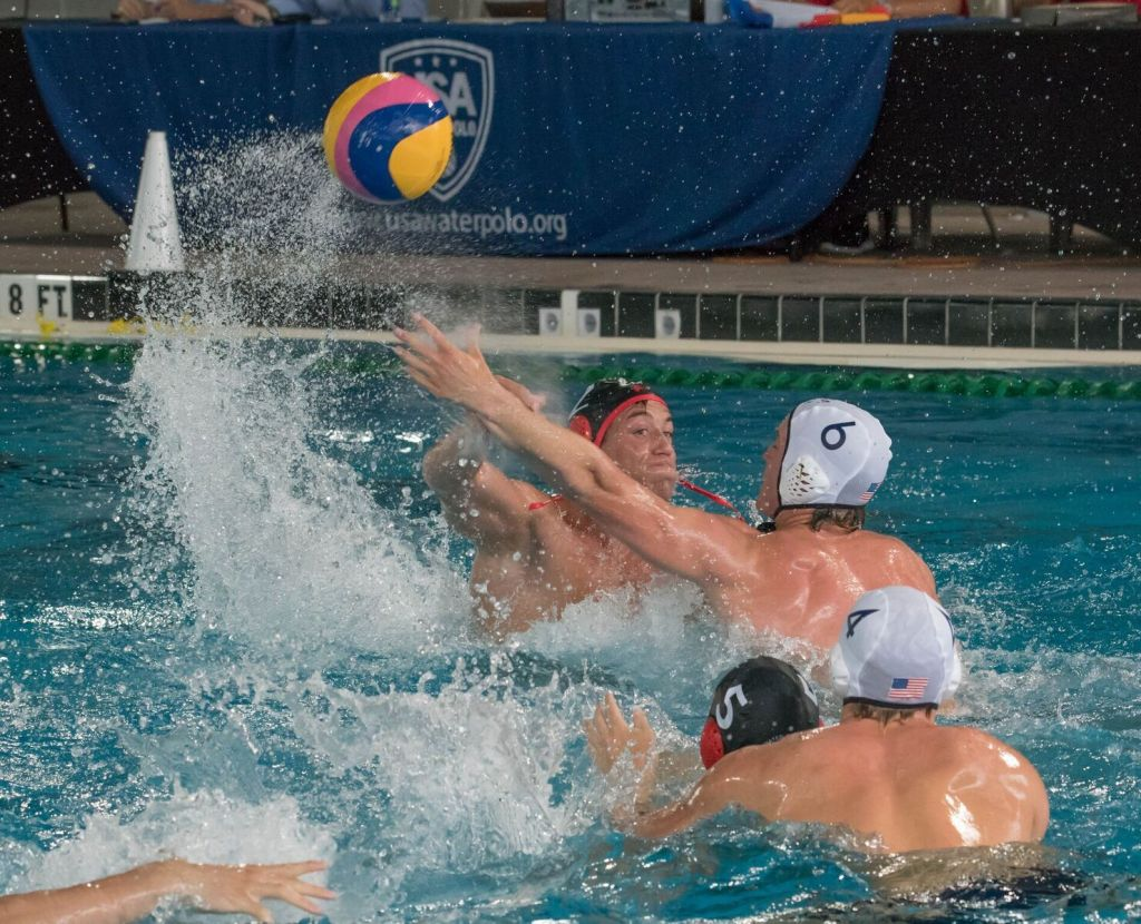 7ccc14f107 U.S. Boys Beat Canadian Men in UANA Pan American Junior Water Polo Semifinal