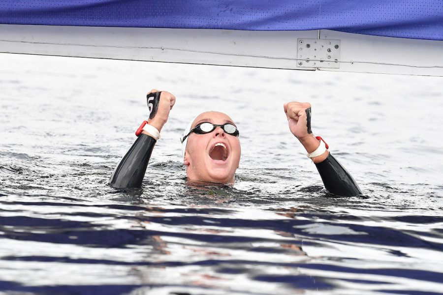 VAN ROUWENDAAL Sharon NED Gold Medal 5km Women Glasgow 08/08/2018 Open Water Swimming Loch Lomond and The Trossachs National Park LEN European Aquatics Championships 2018 European Championships 2018 Photo Andrea Staccioli /Deepbluemedia /Insidefoto