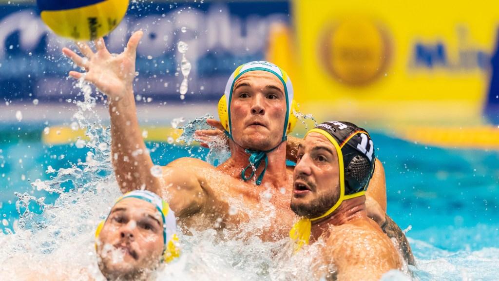 14-09-2018: Waterpolo: Berlin FINA Men's Water Polo World Cups 2018