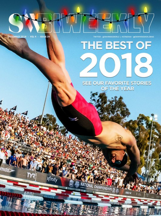 Swimming World Biweekly: The Best of 2018 - Cover