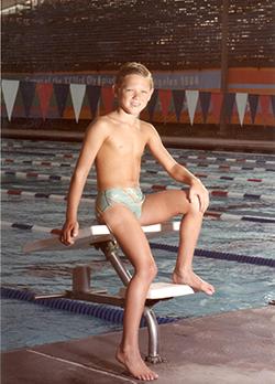 Jason Lezak young swimmer