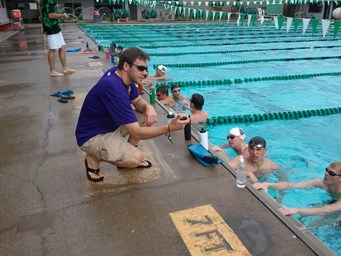 Coach Nathan Owens Maverick Nike Swim Camp